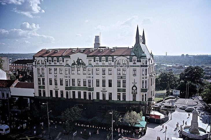 אתרים בבלגרד: מלון מוסקבה