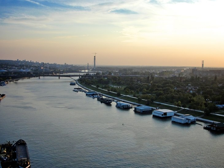 אתרים בבלגרד: נהר הסאווה