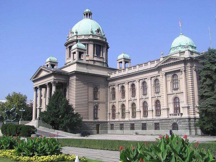 אתרים בבלגרד: בית הפרלמנט