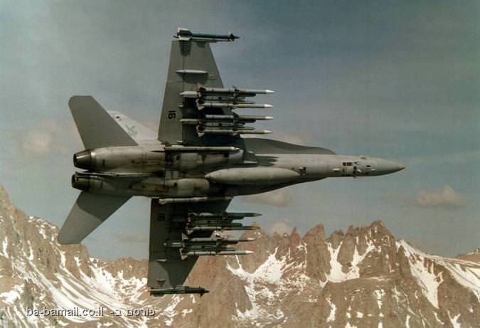 מטוס F-18 אמריקאי