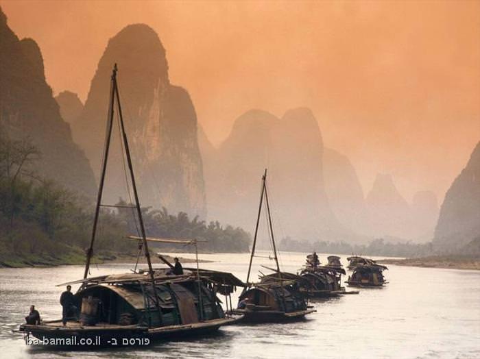 מים, נהר הלי, סין