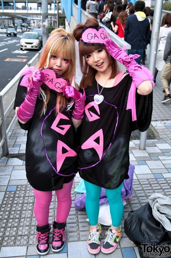 יפן, מוזיקה, אופנה, ליידי גאגא, בחורות, תמונה