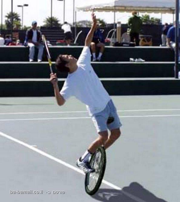 טניס, ספורט, מצחיק, תמונה