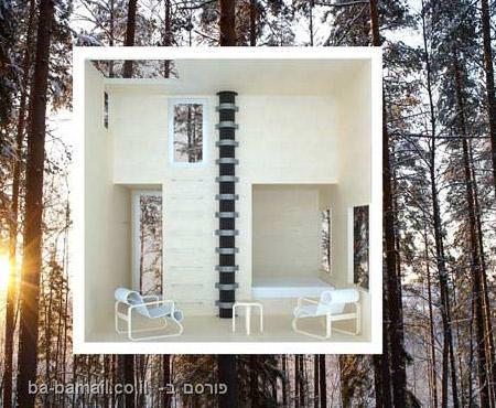 מלון, בית עץ, בית מראות, שוודיה
