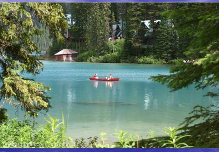 קנדה, הרי הרוקי, אגם אמרלד