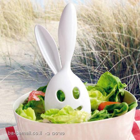 כלי מטבח מדליקים - ארנב הסלט