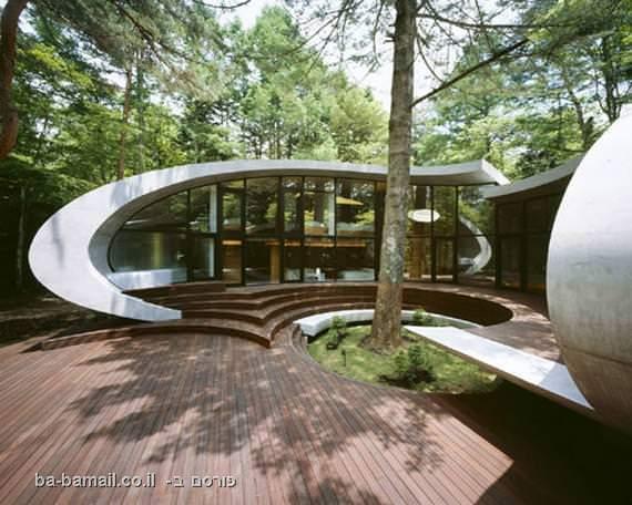 בית קונכייה, ארכיטקטורה, יפן, יער, קוטרו אידה, נאגאנו