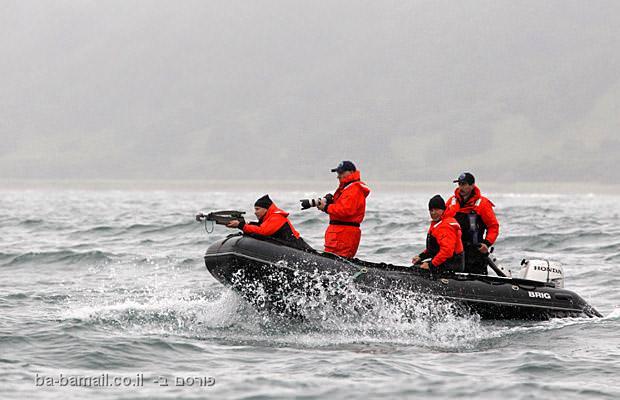 ולדימיר פוטין, רוסיה, ראש ממשלת רוסיה,צייד, ציד לווייתנים