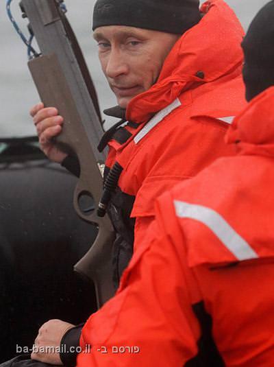 ולדימיר פוטין, רוסיה, ראש ממשלת רוסיה, קשת ירייה, כובע גרב