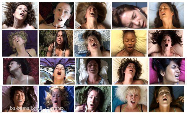 נשים, התעטשות, הבעות פנים, אורגזמה, מצחיק