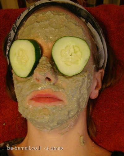 מסכת פנים, טיפול פנים