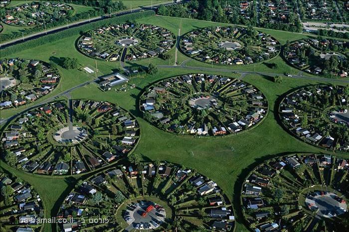 פרוייקט מצלום, כדור הארץ, תמונות מהאוויר,פרברים, קופנהגן, דנמרק
