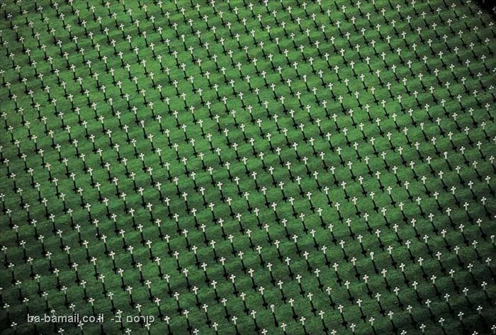 פרוייקט מצלום, כדור הארץ, תמונות מהאוויר,בית קברות צבאי, ורדון, צרפת