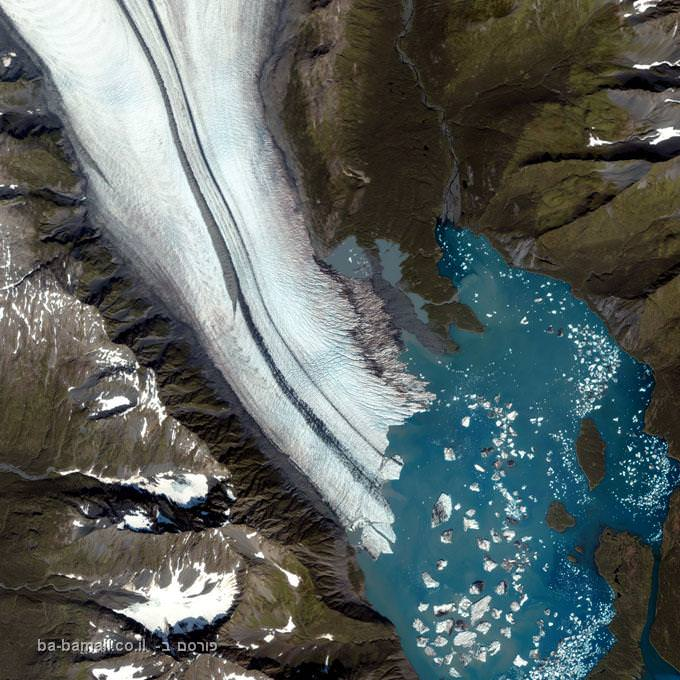 קרחון הדוב, אלסקה