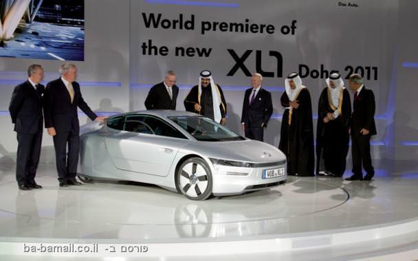מדהים: המכונית שצורכת פחות מליטר ל-100 ק``מ
