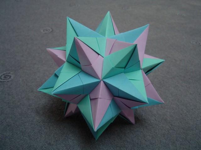 כוכב מקיפולי נייר