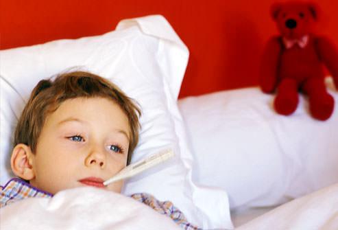 חום של ילד