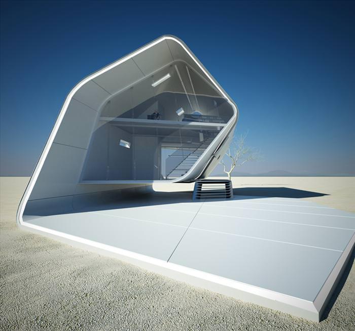 בית מתקפל - עיצוב אקולוגי מיוחד!