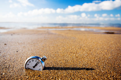 שעון שקוע בחול