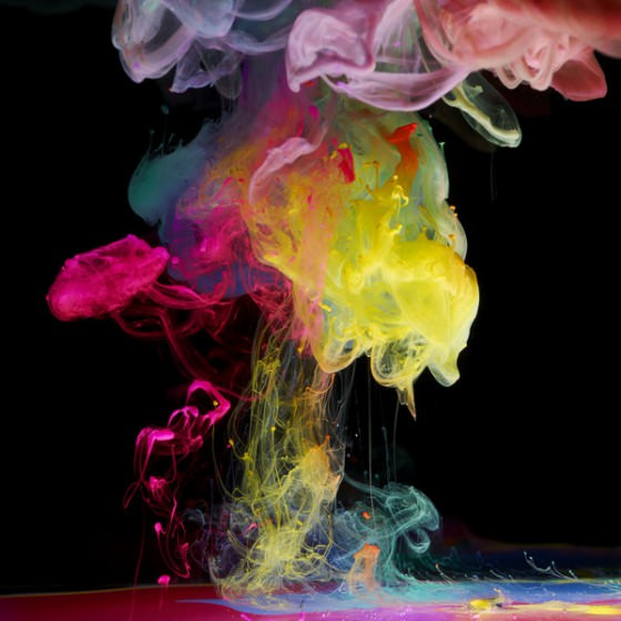 מים וצבע