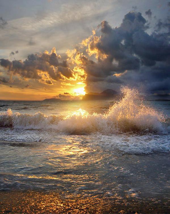 עננים ושמש