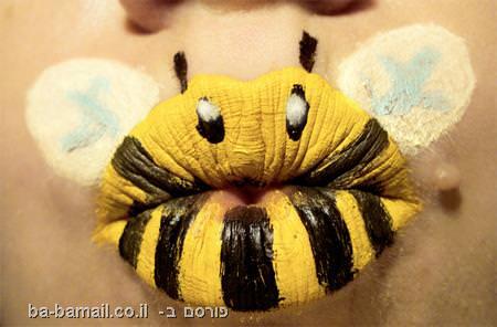 שפתיים בתחפושות