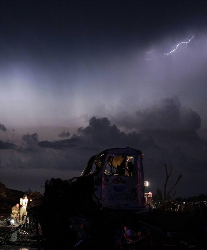 חוסר אונים מול הטבע: הטורנדו שהלם השבוע בארה``ב