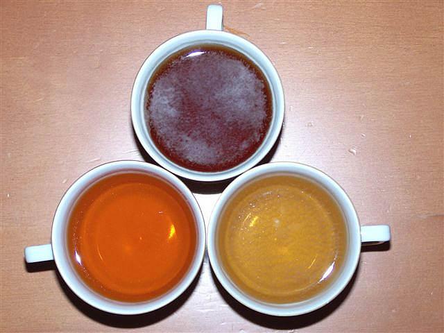 סוגי תה