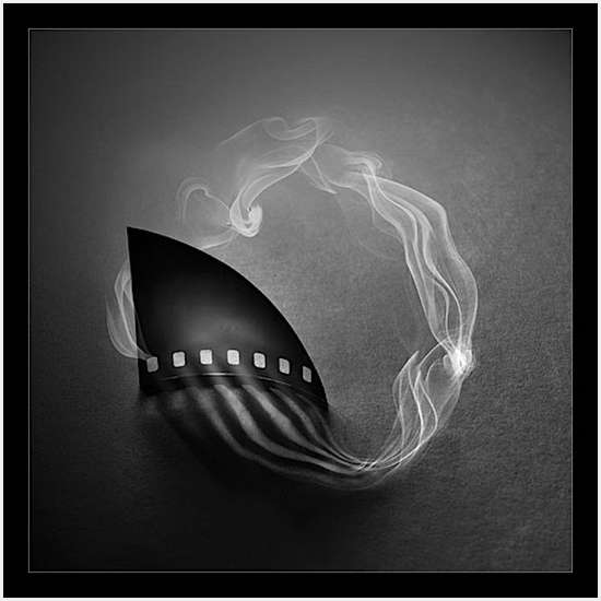 יצירות עם עשן