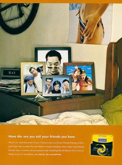 פרסומת לקונדומים