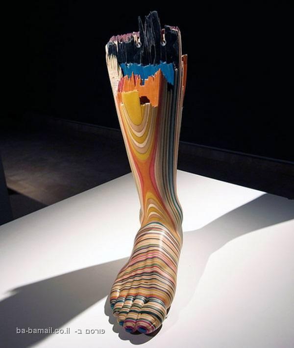אומנות מחלקי סקייטבורד - תמונות מדהימות! (בעריכה)
