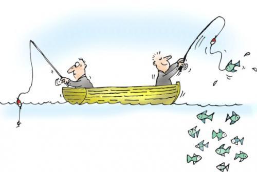 גברים דגים