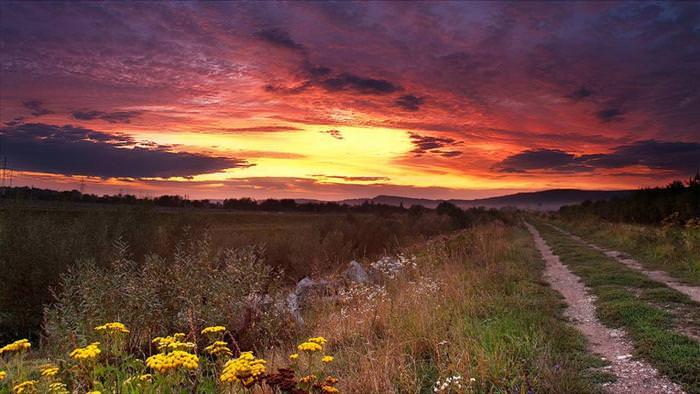 נופים מדהימים מרומניה