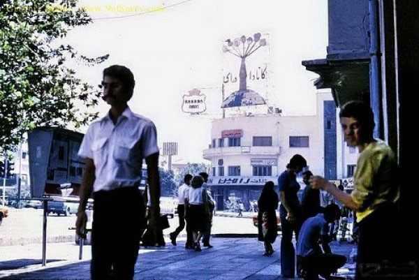 תמונות מאיראן של שנות ה-60 וה-70