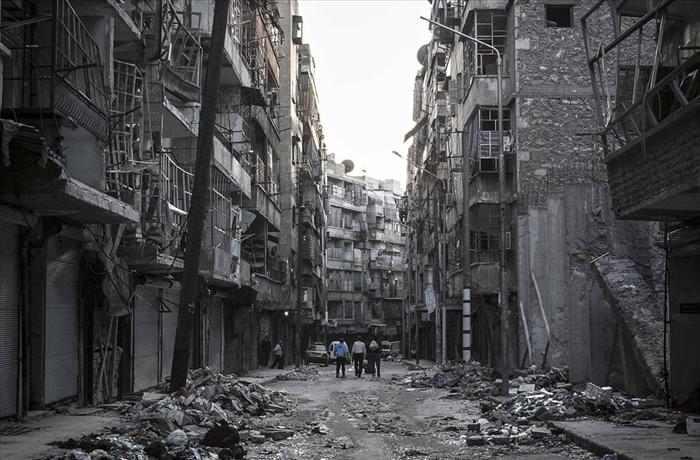 תמונות עיתונות מהמלחמה בסוריה