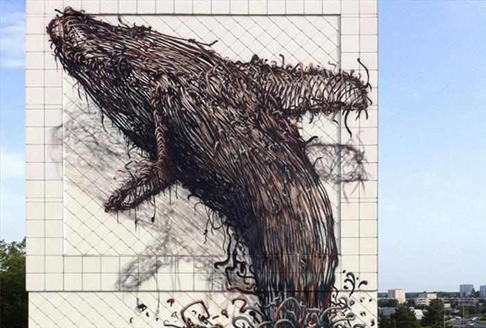 פסלי מתכת של בעלי חיים מהעולם