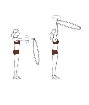 אימון גופני עם חישוק