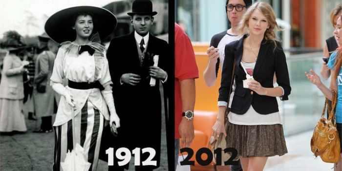 הבדלים בין 1912 ל-2012