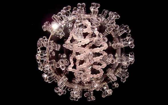 פתוגנים מזיקים מפוסלים מזכוכית - מדהים!