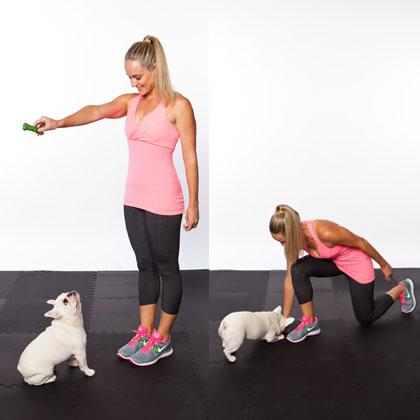 אימון גופני עם הכלב