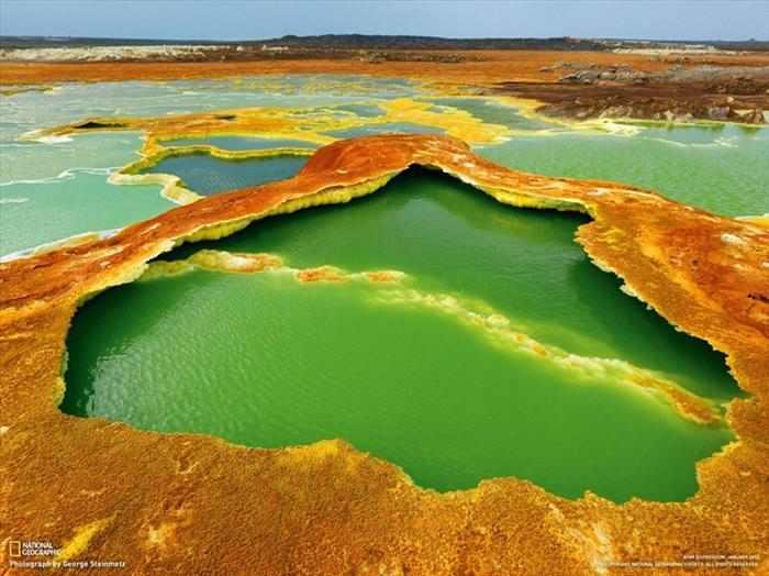 אפריקה בצילום אווירי