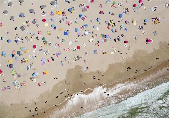 חופים בצילום אווירי