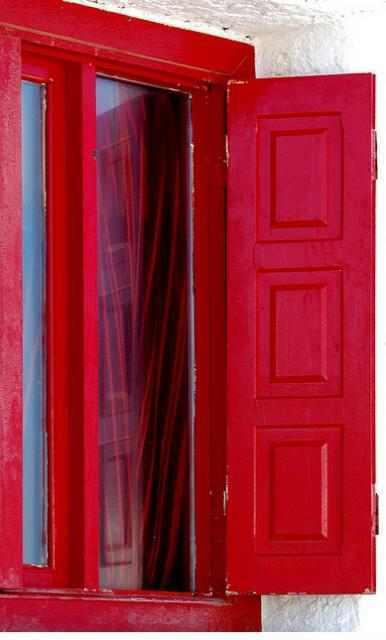 חלונות אדומים