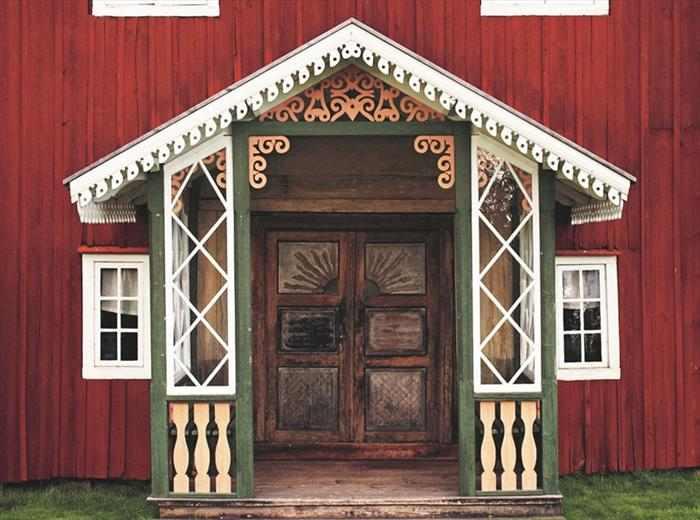 בתי חווה מפוארים בשוודיה