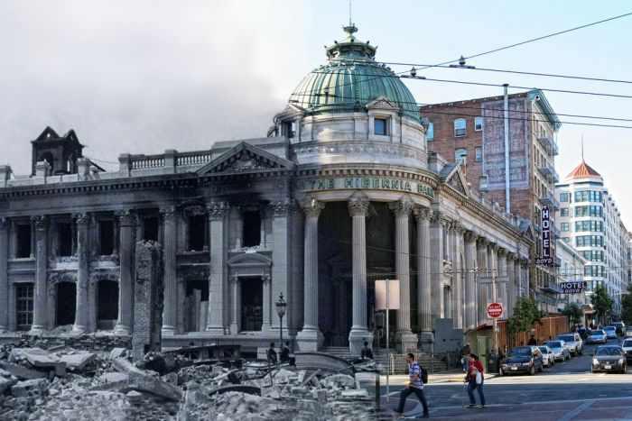 רעידת אדמה סן פרנסיסקו אז והיום