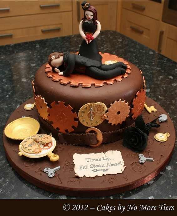 עוגות גירושין בעיצובים מפתיעים