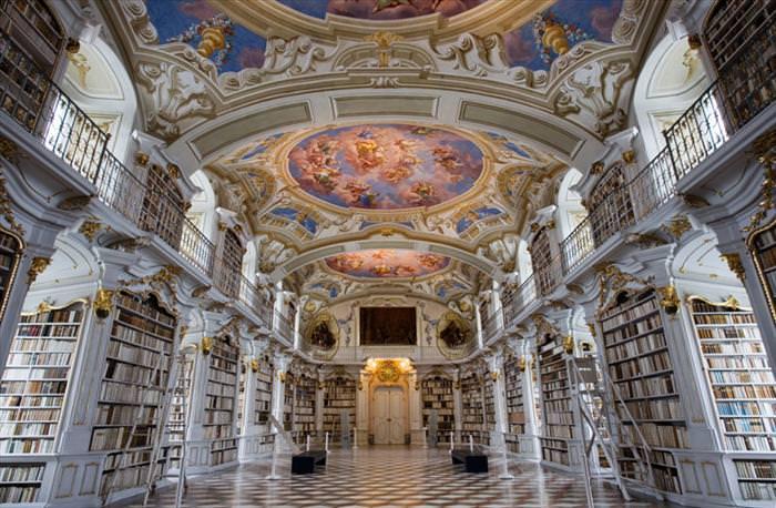 ספריית אדמונט אבי באוסטריה