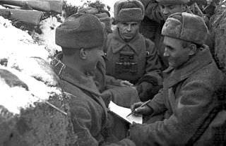 חיילים רוסים במלחמת העולם השנייה
