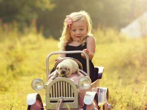 תמונות של חיות וילדים