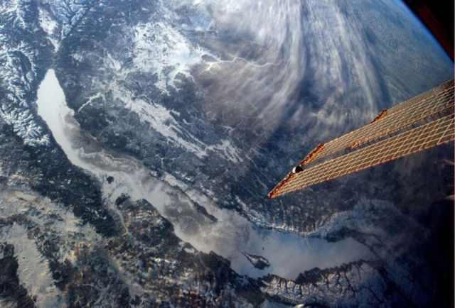 תמונות מהחלל של מקומות מוכרים